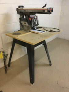 "wanted craftsman 8,9,or 10"" radial arm saw"