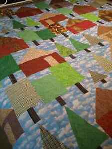 JUST REDUCED--Locally made Quilt   'Cabin in the Woods' Kingston Kingston Area image 3