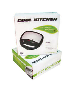 Cool Kitchen Electronic Waffle Maker with Non Stick Coating