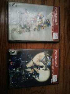 Kingdom Hearts 1 & 2 sur Playstation 2