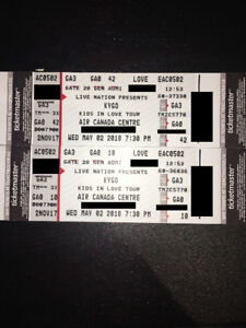 2 Kygo FLOOR Tickets - ACC, May 2