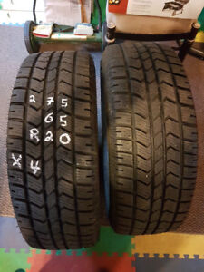LT 275/65R20  X4 Mud and snow showroom contioion..Arctic Claw