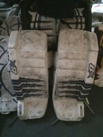 Brians 32+1 pro series pads and full goalie equipment