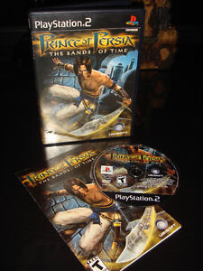 PS2-PRINCE OF PERSIA-THE SANDS OF TIME