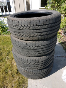 265/50R20 good year fortera HL tires