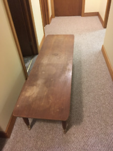 Retro teak coffee table or TV stand
