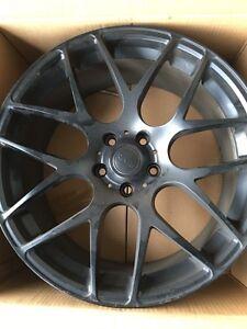 """19"""" Riva Matt Black Wheels - $650"""