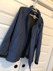 TILLEY men nylon hooded jacket size 3x like new