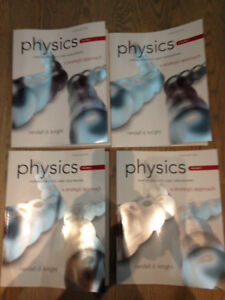 Manuel Physics for scientists and engineers 3e ed vol 1,3,4 et 5