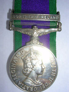 MEDAL G.S.M Northern Ireland