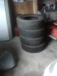 4 michelin  x ice tires  235/70/16 forsale