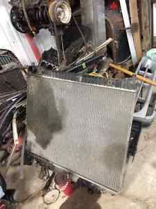 Radiator from 1999 ford e450 cube truck