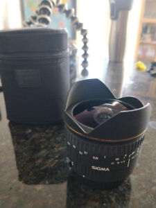 Sigma 15mm f/2.8 EX DG Diagonal Fisheye Lens for Canon EF