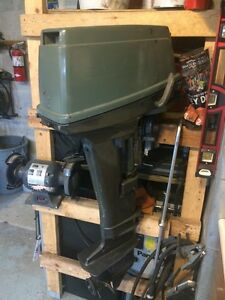 1996 Suzuki 15hp long shaft outboard