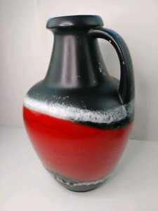 Tres grosse cruche vintage poterie made in Germany Allemagne