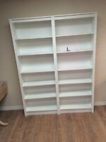 Brand new book shelves
