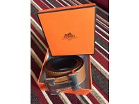 Hermes belts brand new boxed