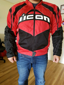 RED ICON JACKET