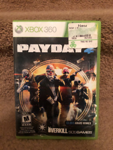 Payday for the XBox360