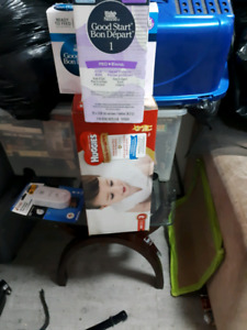 Diapers and formula