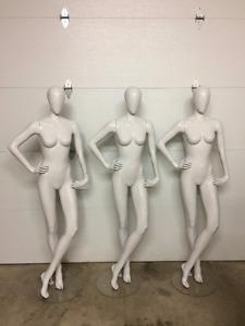 8 Mannequins