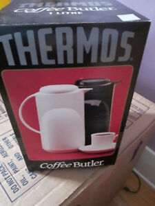 new, never used, thermos coffee butler