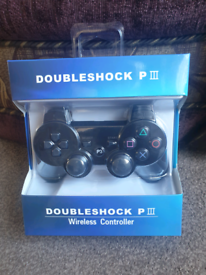 PS3 DoubleShock Wireless Controller Brand new Sealed