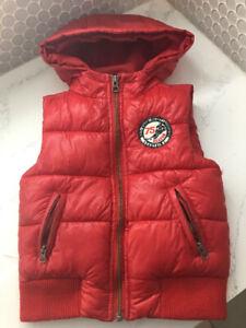 Girls/Boys red vest
