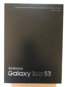 """BNIB, Sealed. SAMSUNG, Galaxy Tab S3, 32 GB, 9.7"""", Silver"""