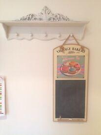 Kitchen vintage look chalk board