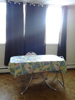 Bright Furnished one bedroom suite $40  daily Downtown Area