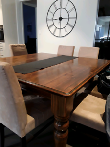 Dining Table ~ Solid Baltic Pine ~ Square