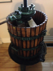 Italian Wine/Cider Press