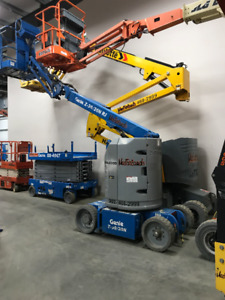 Scissor Lifts and Boom Lifts