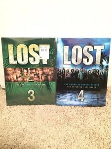 LOST DVD - season 3, 4, 5