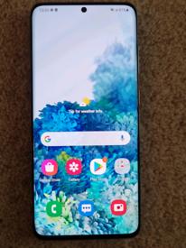 Samsung Galaxy s20 5g with Samsung rear led case