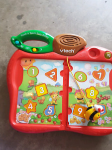 Vtech teach and touch busy books