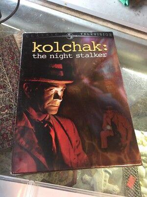 Kolchak  The Night Stalker  Dvd  2005  3 Disc Set
