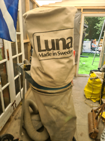 Portable dust extraction unit