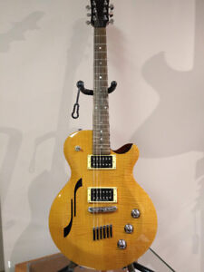 Yamaha AES 620 HB Honey Blonde Semi Hollow Electric