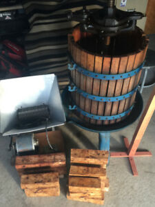 Wine Making Equipment/Apple Cider/Strawberries/ETC $400 OBO
