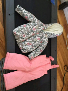 Snowsuit baby girl 18-24 months