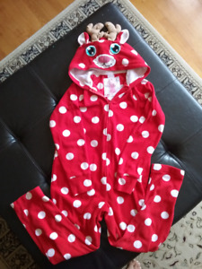 Justice Christmas Onsie - Reindeer - excellent condition size 8