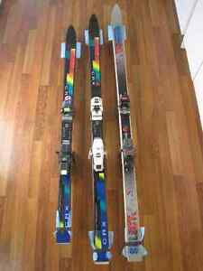 Downhill Skis (3 Pair)