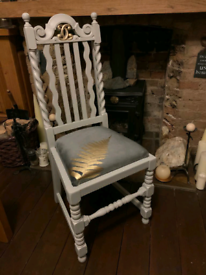 Go on, Make an offer! Antique/ vintage bedroom/ hallway / dining chair