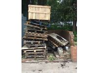 Broken pallets. (FREE to collector)