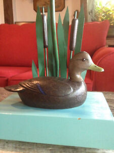 RECHERCHE-WANTED- sculpture - art populaire - duck decoys West Island Greater Montréal image 5
