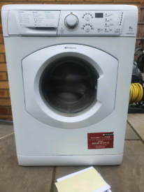 Hotpoint 6kg Aquarius washing machine delivered and installed today
