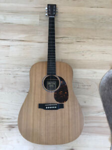 Martin & Co acoustic guitar (Solid Spruce top) model DX1RAE