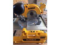 Dewalt DW74 3N Flip over saw (110). Brand New